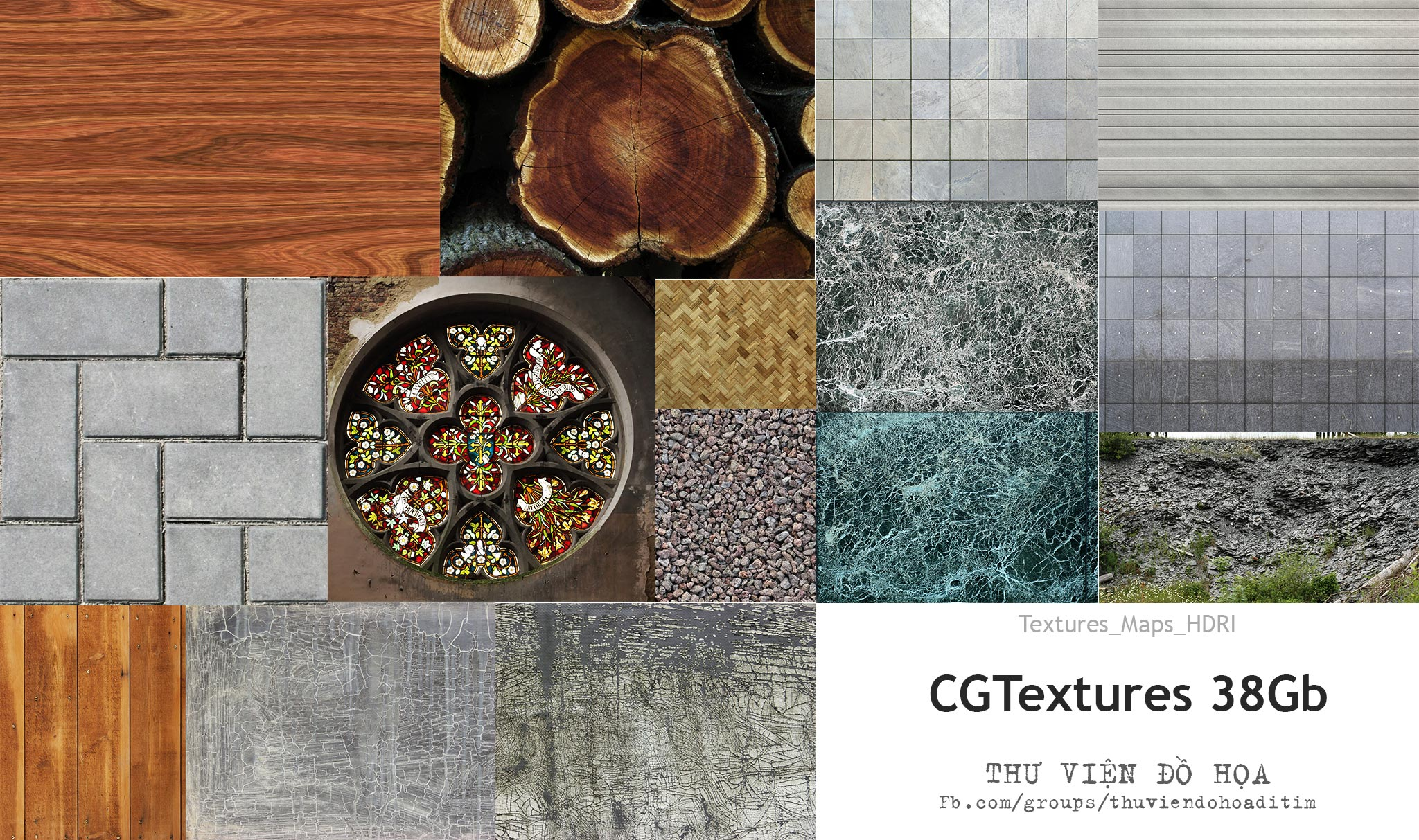 [Textures] CGTextures 38Gb Full